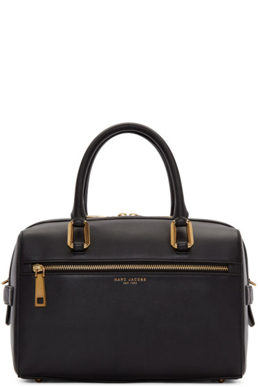 Marc Jacobs - Black Leather Small West End Bauletto Bag