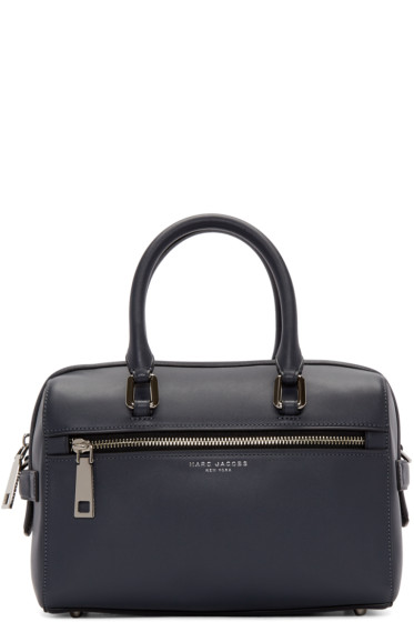 Marc Jacobs - Grey Leather Small West End Bauletto Bag