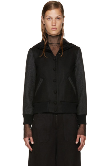 Marc Jacobs - Black Varsity Jacket