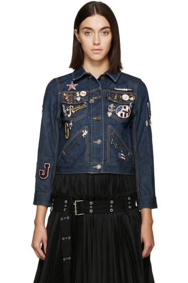 Marc Jacobs - Blue Shrunken Denim Jacket