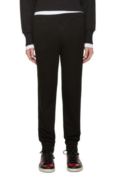 T by Alexander Wang - Black Vintage Fleece Lounge Pants