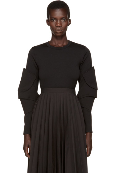 Comme des Garçons - Black Articulated Sleeve T-Shirt