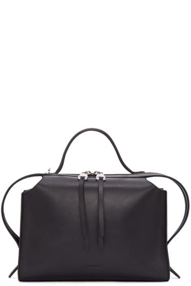 Jil Sander - Black Small Clover Bag