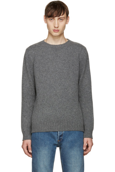 A.P.C. - Grey Shortbread Sweater