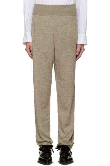Lanvin - Beige Knit Lounge Pants