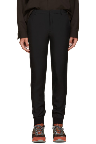 Lanvin - Black Zip Jogging Trousers