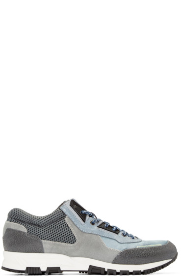 Lanvin - Grey Mix Sneakers