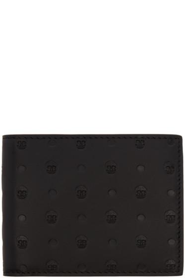 Alexander McQueen - Black Skull-Embossed Wallet