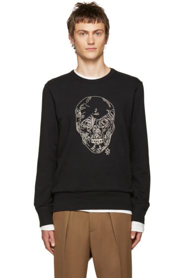 Alexander McQueen - Black Chain Skull Pullover