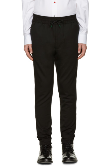 Paul Smith - Black Drawstring Trousers