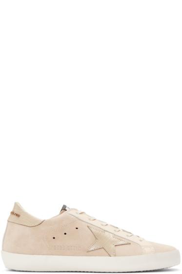 Golden Goose - Beige Superstar Sneakers