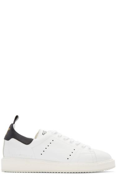Golden Goose - White Off-White Edition Starter Sneakers