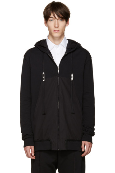 Damir Doma - Black William Zip-Up Hoodie
