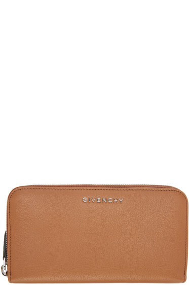 Givenchy - Tan Pandora Zip Wallet