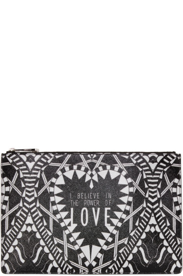 Givenchy - Black 'Power of Love' Pouch