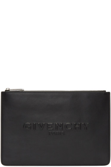 Givenchy - Black Medium Logo Pouch