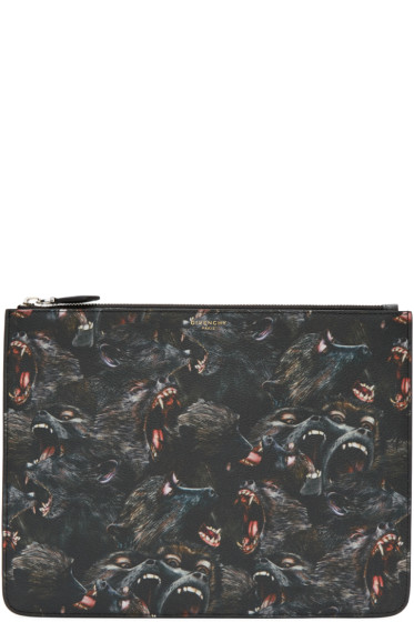 Givenchy - Black Monkey Pouch