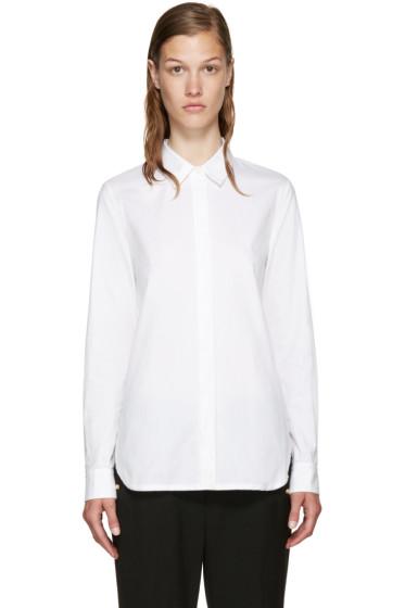 3.1 Phillip Lim - White Back Overlay Shirt