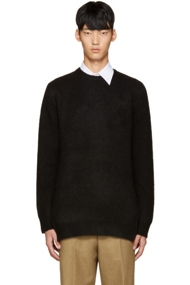 3.1 Phillip Lim - Black Wool Tunic Sweater