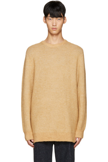 3.1 Phillip Lim - Tan Wool Tunic Sweater