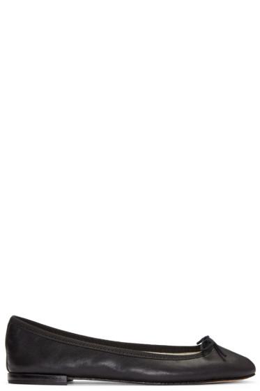 Repetto - Black Cendrillon Ballerina Flats
