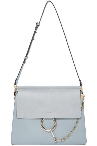 Chloé - Blue Medium Faye Bag