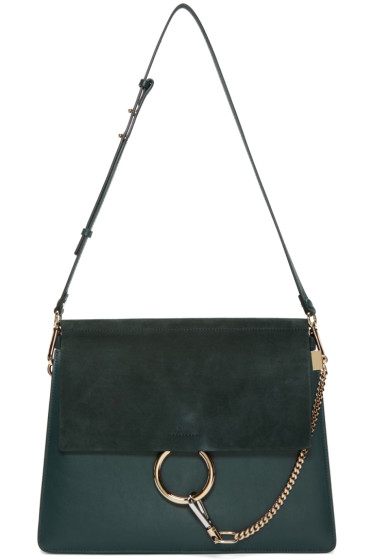 Chloé - Green Medium Faye Bag