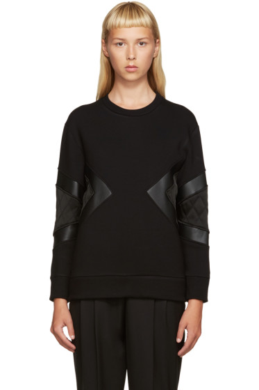 Neil Barrett - Black Modernist Pullover
