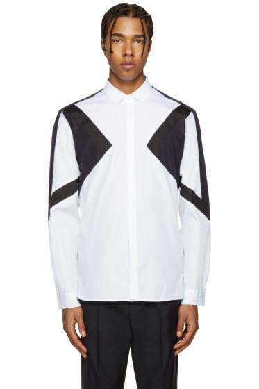 Neil Barrett - Tricolor Modernist Shirt