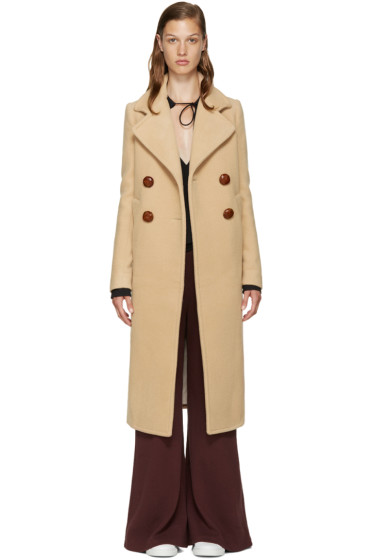 See by Chloé - Beige Wool Long Coat