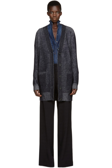 See by Chloé - Blue Marled Cardigan