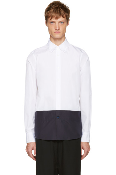 Marni - White Colorblocked Shirt
