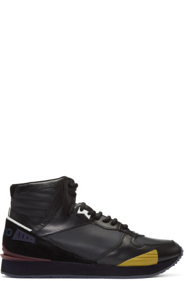 Kenzo - Black Runmid High-Top Sneakers