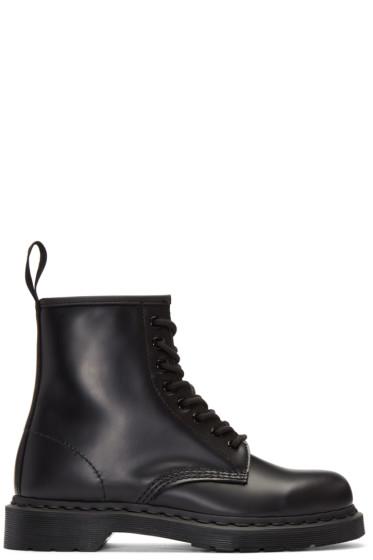 Dr. Martens - Black Eight-Eye 1460 Mono Boots