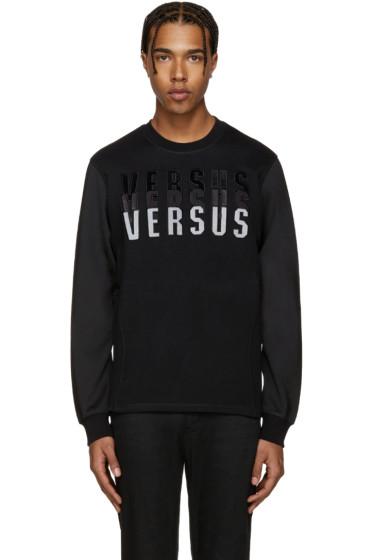 Versus - Black Logo Sweatshirt