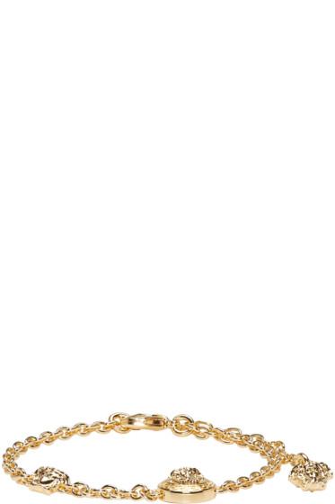 Versace - Gold Chain Medusa Bracelet