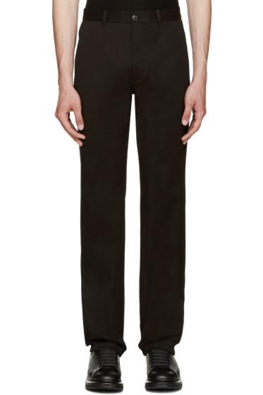 Versace - Black Slim Trousers