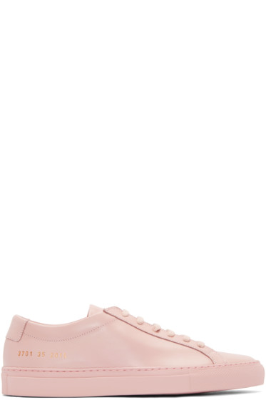 Woman by Common Projects - Pink Original Achilles Sneakers