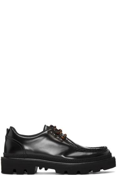 MSGM - Black MS Crepe Shoes