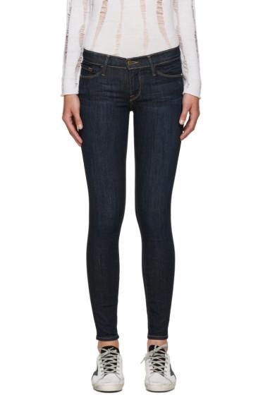 Frame Denim - Indigo Le Skinny de Jeanne Jeans