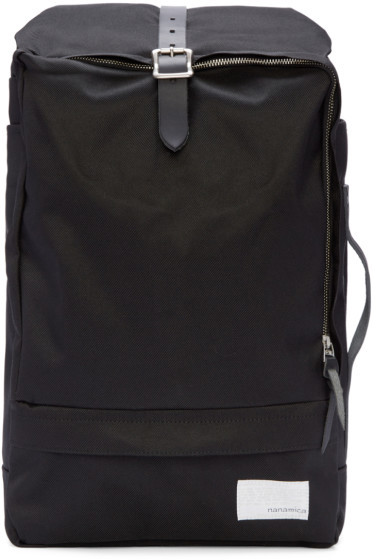 Nanamica - Black 3 Way Briefcase Pack