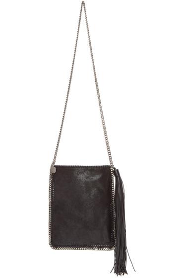 Stella McCartney - Black Falabella Shaggy Deer Bag