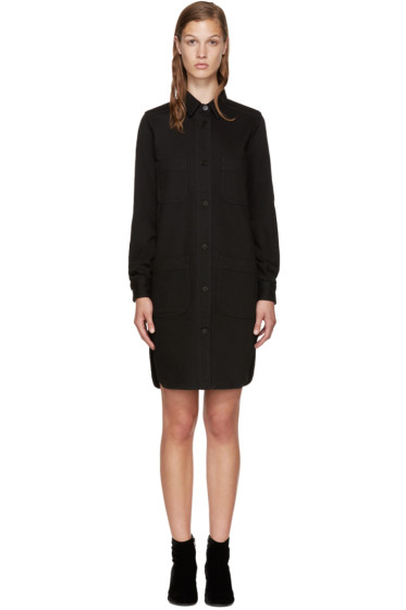 Stella McCartney - Black Denim Shirt Dress