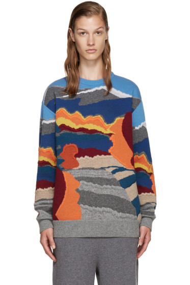 Stella McCartney - Multicolor Patterned Sweater