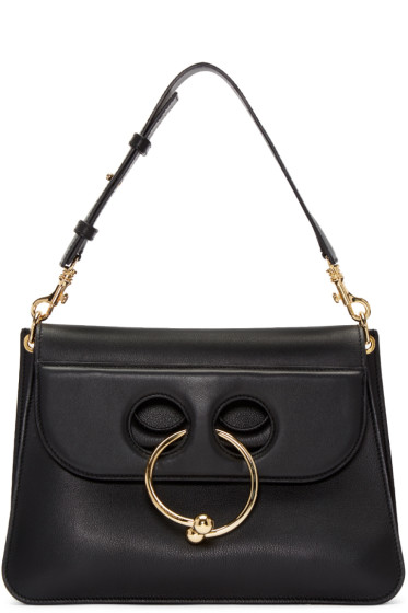 J.W.Anderson - Black Medium Pierce Bag