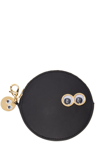 Sophie Hulme -  Black Frank & Penny Spot Coin Pouch