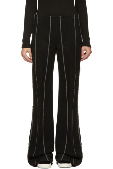 Calvin Klein Collection - Black Pinstripe Jadile Trousers