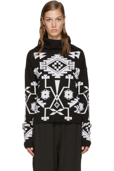Marcelo Burlon County of Milan - Black Longavi Sweater