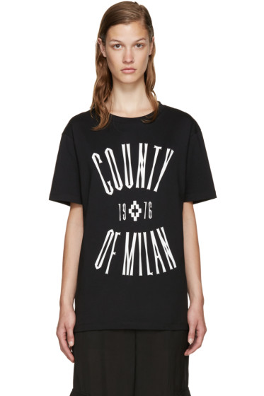 Marcelo Burlon County of Milan - Black Egger T-Shirt