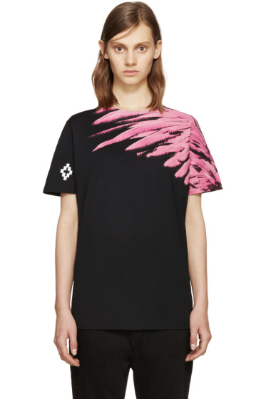 Marcelo Burlon County of Milan - SSENSE Exclusive Black Lonquimay T-Shirt